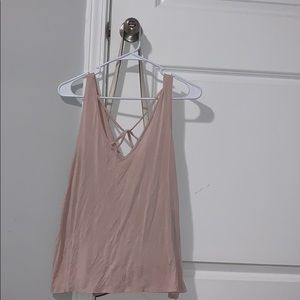 american eagle tank top size large
